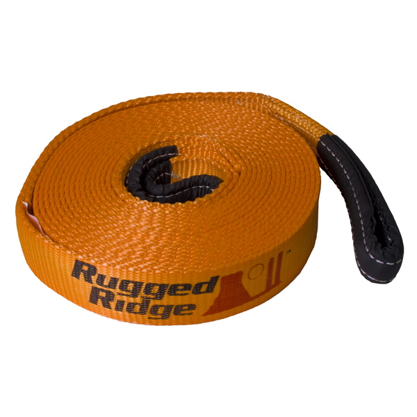 Recovery Strap, 2 Inch x 30 feet - Rugged Ridge