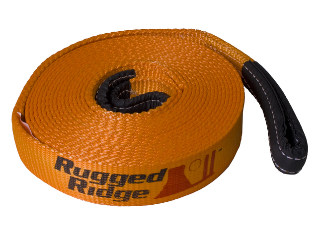 ATV/UTV Recovery Strap, 1 Inch x 15 feet - Rugged Ridge