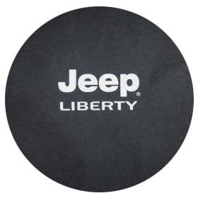Jeep Liberty Logo Spare Tire Cover Mopar 82207585AC