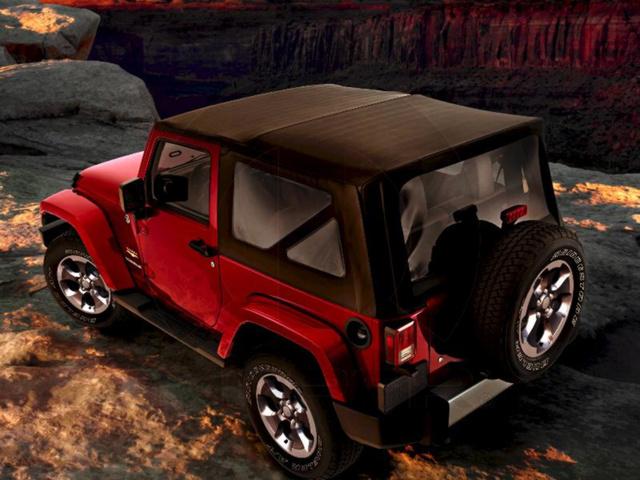 Jeep Wrangler 2 Dr Replacement Window 3 Window Kit 2013 2016