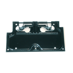 License Plate Bracket, Black; 87-95 Jeep Wrangler YJ - Rugged Ridge