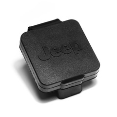 2 Inch Hitch Plug, Jeep Logo - Rugged Ridge