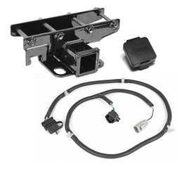 Receiver Hitch Kit, Jeep Logo; 07-16 Jeep Wrangler JK - Rugged Ridge