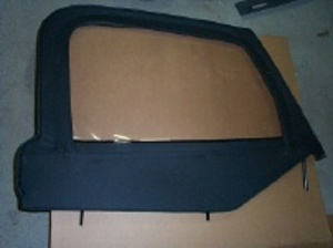 JEEP WRANGLER TJ HALF DOOR WINDOW LEFT DRIVER
