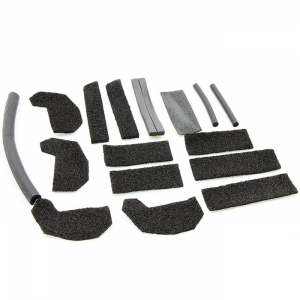 Jeep Wrangler Hardtop Foam Blocker Seal Kit Wrangler Unlimited JK