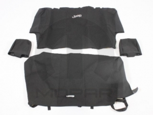 JEEP SEAT COVERS REAR WITHOUT HEADREST COVERS - MOPAR (82210332)