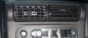 Jeep Center Panel Dash Air Vent Wrangler Cherokee Mopar 97-06