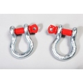 3/4 Inch D-Shackle Set - Rugged Ridge
