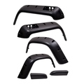 6 Piece All Terrain Fender Flare Kit; 87-95 Jeep Wrangler YJ - Rugged Ridge