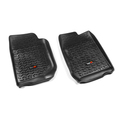 Floor Liners, Front, Black; 07-16 Jeep Wrangler/Unlimited JK - Rugged Ridge