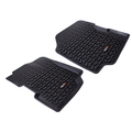 Floor Liners, Front, Black; 76-95 CJ5/CJ7/CJ8/Wrangler YJ - Rugged Ridge