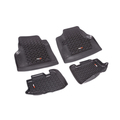 Floor Liners, Kit, Black; 97-06 Jeep Wrangler/Unlimited TJ/LJ - Rugged Ridge