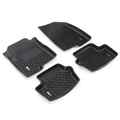 Floor Liners, Kit, Black; 07-16 Compass/Patriot MK/Caliber - Rugged Ridge