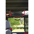 Rear Side Grab Handles, Red; 07-16 Jeep Wrangler Unlimited JK - Rugged Ridge