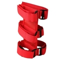 Sport Bar Fire Extinguisher Holder, Red; 55-16 CJ/Wrangler YJ/TJ/JK - Rugged Ridge