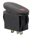2-Position Rocker Switch, Red - Rugged Ridge