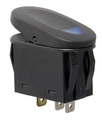 2-Position Rocker Switch, Blue - Rugged Ridge