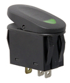 2-Position Rocker Switch, Green - Rugged Ridge