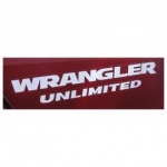 MOPAR Wrangler Unlimited Decal Silver 1FN59CA1AC