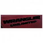 MOPAR WRANGLER UNLIMITED DECAL BLACK 1FN59GX9AC