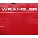 WRANGLER DECAL LIGHT SILVER MOPAR 5FC83TA2