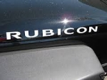 WRANGLER JK RUBICON SILVER DECAL 5JC82CA1AA