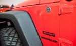 Wrangler SPORT Cut-Out Decal BLACK 5KC94GX9AA