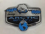 Wrangler Arctic Badge Decal 68143273AA
