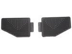 JEEP® WRANGLER REAR SLUSH MATS 1997-2006 - MOPAR (82207783AB)