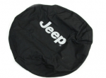 JEEP LOGO SPARE TIRE COVER CLOTH