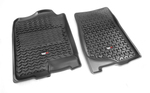 Floor Liners, Front, Black; 07-14 GM Fullsize Pickup/SUV - Rugged Ridge