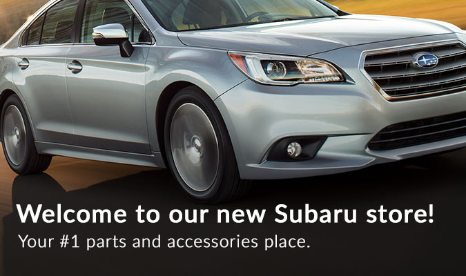 Subaru Parts Counter Banner 2