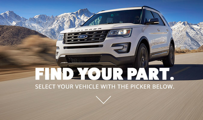Search Ford parts with your vin