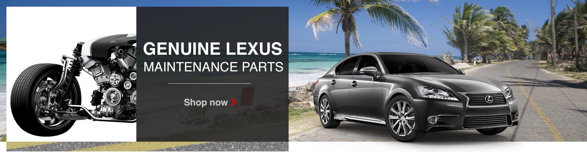 Genuine Lexus Maintenance Parts