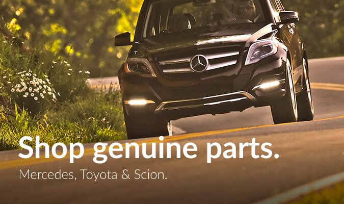 Genuine Mercedes, Sion and Toyota parts