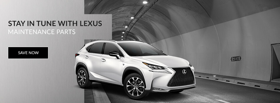 Lexus Maintenance Parts