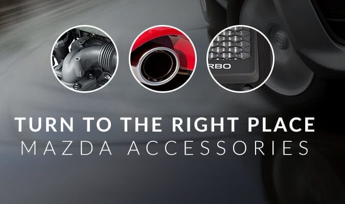 Accessorize. Stay in style with Mazda accessories.