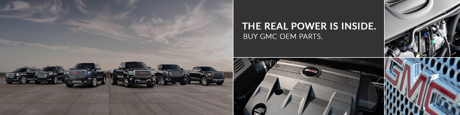GMC genuine parts
