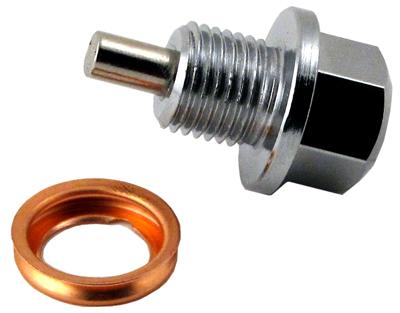 Magnetic Oil Pan Drain Plug and Washer