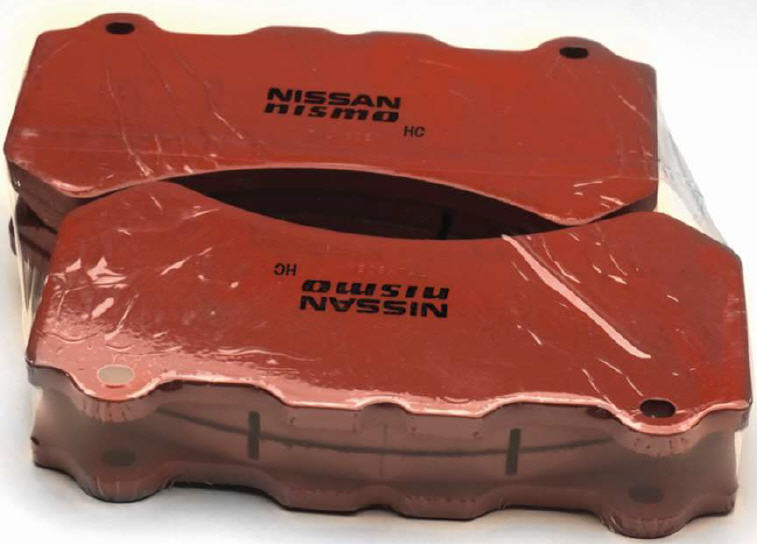NISMO R-TUNE BRAKE PADS - FRONT SET 350Z [2006-2008] AND 370Z [2009-2016]