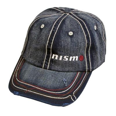 "Navy Washed ""NISMO"" Cap"