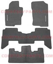 Carpeted Floor Mats (4-pc set) Charcoal color - 2008 to 2010 Pathfinder