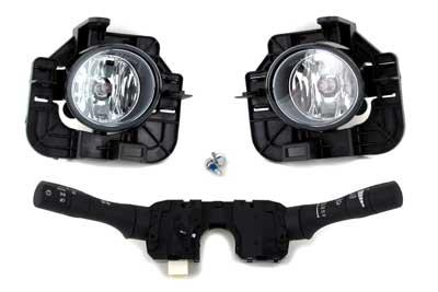 Fog Lamp Kit - 2007-2009 Altima sedan with Auto Headlamps