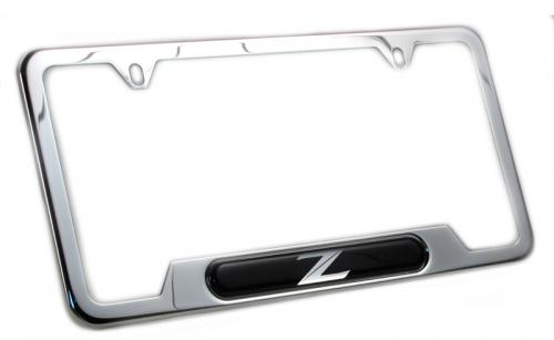 Nissan 370z License Plate Frame ✓ Nissan Recomended Car