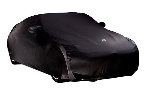 Black Satin Stretch Car Cover - 2010-2012 Nismo 370Z