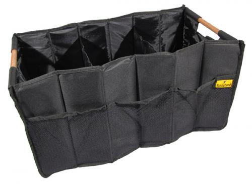 Collapsible Cargo Bag - Wood Handles