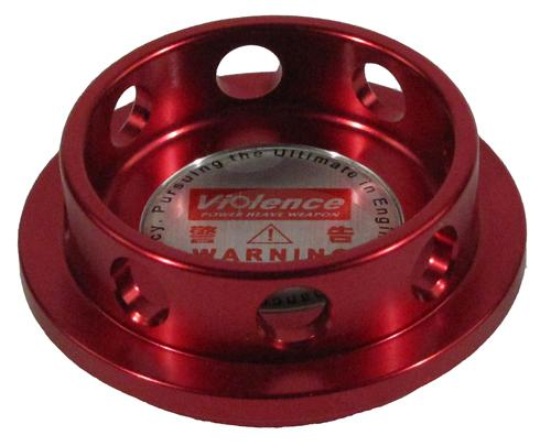 Oil Cap Cover - Red