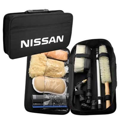 Deluxe Auto Detail Kit with NISSAN logo