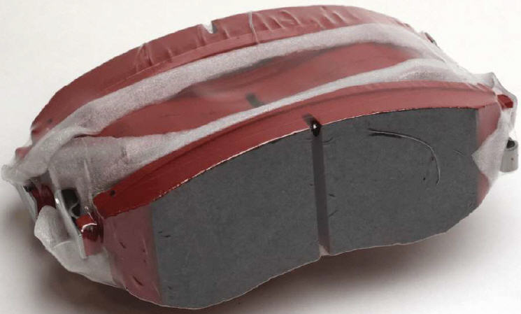 NISMO R-TUNE BRAKE PADS - FRONT SET 350Z [2003-2005 WITH BREMBO]