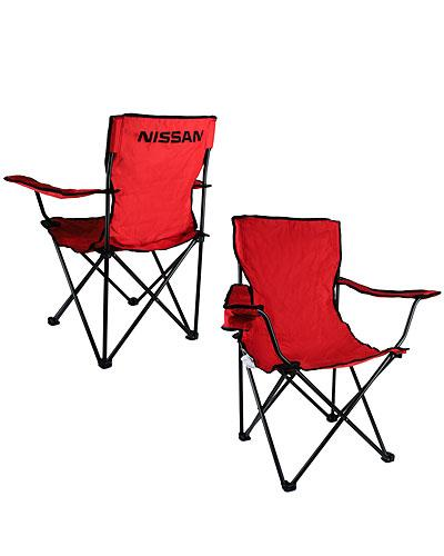Nissan Tailgate Travel Chair-Red - *1 CHAIR*